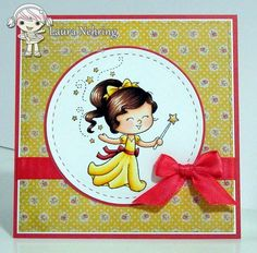 Your Next Stamp - Little Darling Belle, Stitched Squares Dies, Circles Dies, Stitching Marks Circles Dies