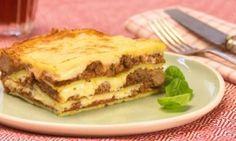 Lasagne Low Carb mit Omelett statt Nudelplatten