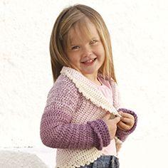 "Princess Petal - Crochet DROPS circle jacket in 2 strands ""BabyAlpaca Silk"". - Free pattern by DROPS Design Crochet Shrug Pattern Free, Crochet Bolero, Gilet Crochet, Crochet Jacket, Crochet Cardigan, Knit Crochet, Crochet Patterns, Free Pattern, Crochet Toddler"