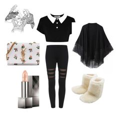 """""""Sans titre #23"""" by callmef on Polyvore featuring mode, M&Co, Relaxfeel, Burberry et Yves Saint Laurent"""