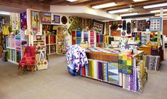 The Quilt Basket in Tucson, Arizona, is home to a diverse and ever-changing collection of fabrics, patterns, and ideas
