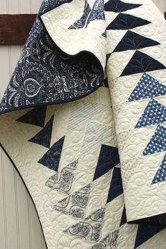Indigo Quilt Fabric | Cotton Berry Quilts