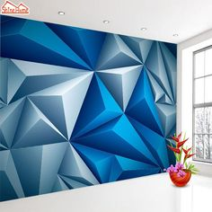 Wall Design Effect . Wall Design Effect . Abstract Wall Design I Used One Roll Of Painter S Tape and Geometric Wall Paint, Geometric Painting, Abstract Art, Geometric Shapes, Wall Paint Patterns, Room Wall Painting, Wall Painting Design, Creative Wall Painting, Tape Painting