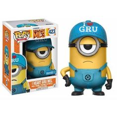 Free 2-day shipping on qualified orders over $35. Buy Funko POP Movies: Despicable Me 3 - I Heart Gru Minion Walmart Exclusive at Walmart.com