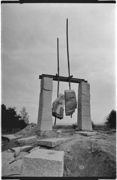 Zbigniew Fraczkiewicz: Stone Feets   Art Installations, Sculpture, Contemporary…