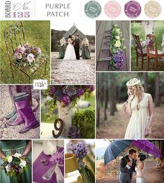 Flieder Türkis | Purple  Patch by #Magnolia Rouge