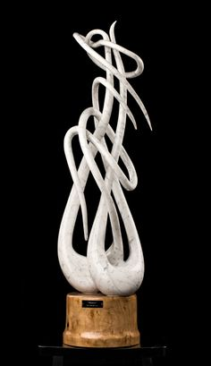 """""""Mantis"""" made in Carrara marble.  -By Joey Marcella"""