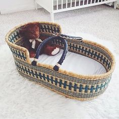 @littlefacesapparel pin. Moses basket