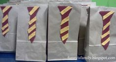 Funny Is Family: Harry Potter Party Favor Bags