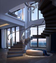 Two Story 10,000 sqft Mandarin Oriental Penthouse Released to Atlanta