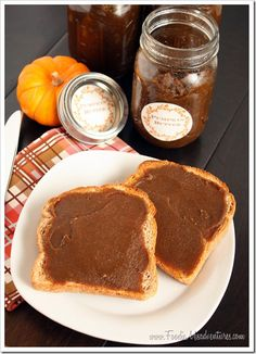 Pumpkin Butter {Slow Cooker}   The Marvelous Misadventures of a Foodie