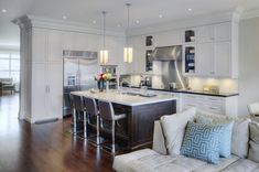 Accented Kitchen in Toronto