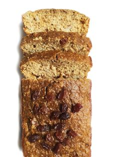 Flourless Oatmeal Raisin Banana Bread