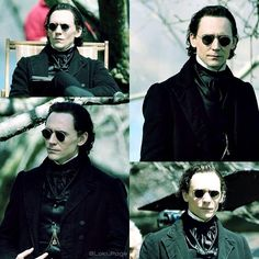 Thomas Hiddleston as Thomas Sharpe, LOL! #CrimsonPeak