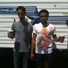 Troy and Abed. looking pissed? Community Tv Show, Community College, Danny Pudi, Donald Glover, Childish Gambino, Comedy Tv, Movies Showing, Celebrity Crush, Album Covers
