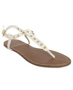 Pyramid Studded Sandal - Shoes