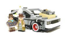 Back to the Future LEGO - DeLorean Time Machine