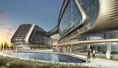 Sky SOHO - Architecture - Zaha Hadid Architects