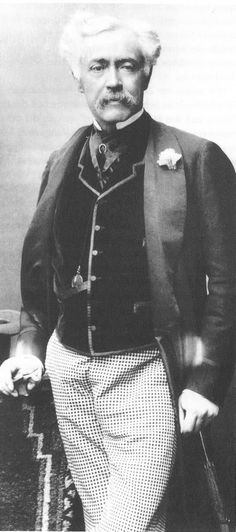 Charles Guillaume Frédéric Boson de Talleyrand-Périgord (1832-1910), prince de Sagan - by Nadar 1883