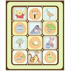 Springs Creative Pooh Nature Quilt Top Fabric