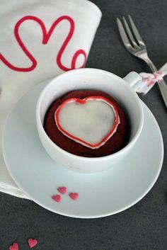 Mug Cake Monday Roter Samt Tassenkuchen   Der Kuchenbäcker