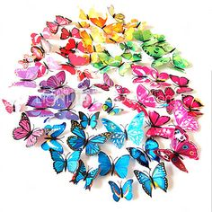 3D PVC Colorful Simulation Butterfly Wall Stickers 12PCS/SET - GBP £1.75 ! HOT Product! A hot product at an incredible low price is now on sale! Come check it out along with other items like this. Get great discounts, earn Rewards and much more each time you shop with us!