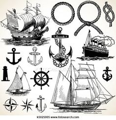 Nautical Clipart EPS Images. 6152 nautical clip art vector illustrations available to search from over 15 royalty free illustration publishers.