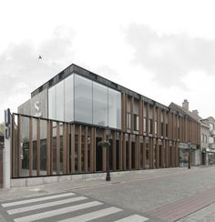 GRAUX architecten - Office Solvas, Zomergem, #Belgium (2012) #architecture #offices