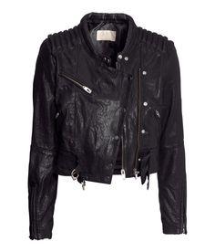 H Leather Jacket