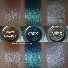 URBAN DECAY MOONDUST SHADOWS ($21) 3 more MOONDUST shadows! CRUX and VAPE are 2 of 12 (?) that are available exclusively on the UD website. SPACE COWBOY is old but I just got it. SPACE COWBOY is …