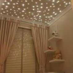 Celing lights from Unique baby gear! awesome idea for a babys room... or my room lol