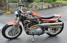 In 2005, Mert Lawwill purchased up 20 Harley-Davidson Sportster XL1200R motorcycles to employ as the base of the limited production run regarding Street Trackers inspired simply by his XR750 flat system. Thanks to a be… #harleydavidsonstreetrod #harleydavidsonstreetroadking #harleydavidsonstreet750 #harleydavidsonstreetbobber #harleydavidsonstreetcustom #harleydavidsonstreetbob Harley Davidson Street 500, Harley Davidson Images, Harley Davidson V Rod, Harley Davidson Sportster, Motorcycle Store, Tracker Motorcycle, Harley Fatboy, Harley Bikes, Truck Box Covers