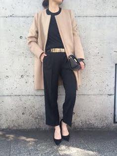 No-collar coat. | Deuxieme Classe 公式ブログ