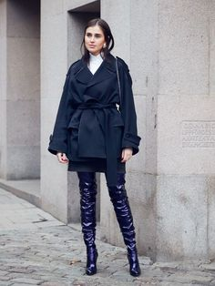 20 Outfits to Copy From Stockholm Fashion Week Street Style via @WhoWhatWear