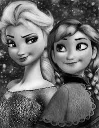 frozen black and white - Google Search