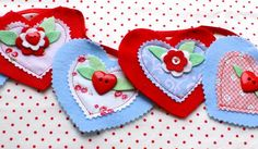 Adorable heart banner by @kathyscottage