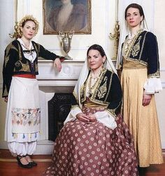 Greece Costume, Folk Costume, Costumes, European People, Greek Culture, Greek Clothing, Fashion History, Traditional Dresses, Passion For Fashion
