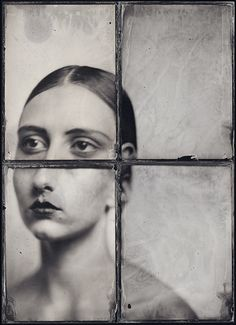 Iconography (Wet Plate Collodion process)~Image © Kasia Wozniak