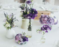 Petits bouquets bleu