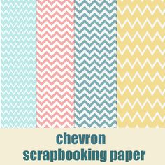 free digital chevron scrapbooking paper  | MeinLilaPark ♥ #free download