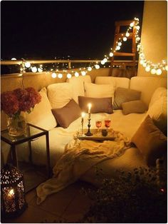 Genius Ways To Turn Your Tiny Outdoor Space Into A Relaxing Nook And lastly, make it super-crazy-extra cozy with cheap mini lanterns.And lastly, make it super-crazy-extra cozy with cheap mini lanterns.