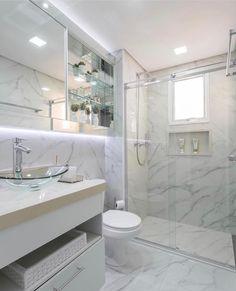 Para os amantes de um banheiro bem clarinho... Projeto Monise Rosa Via @maisdecor_ www.homeidea.com.br Face: /homeidea Pinterest: Home Idea #bloghomeidea #olioliteam #arquitetura #ambiente #archdecor #archdesign #projeto #homestyle #home #homedecor #pontodecor #homedesign #photooftheday #love #interiordesign #interiores #cute #picoftheday #decoration #revestimento #decoracao #architecture #archdaily #inspiration #project #regram #home #casa #grupodecordigital