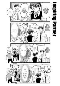 Read manga Gekkan Shojo Nozaki-kun Ch.060 | Hori-senpai is just motivating, okay?!
