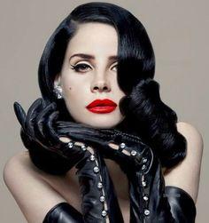 Face: Lana Del Rey | Body: Dita von Teese #edit