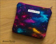 Cosmic Nebula Zipper Pouch.
