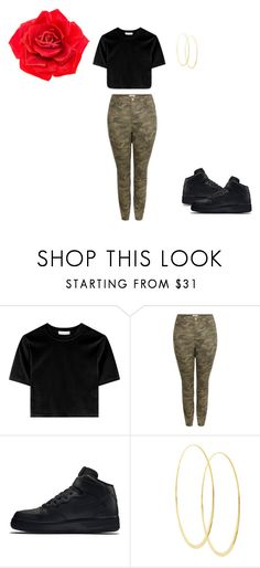 """Estoy sola"" by baby-bre ❤ liked on Polyvore featuring New Look, NIKE, Lana and Johnny Loves Rosie"
