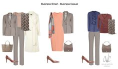 Business capsule wardrobe for women with Capsule Wardrobe Collection