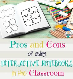 Are you thinking about using Interactive Notebooks in your classroom this year? Check here for a list of pros and cons before your big decision.
