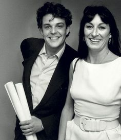 1990 Danny e Anjelica Huston