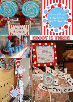 A Seusstastical Birthday   Project Nursery